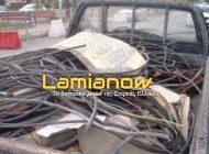 Κόμμα Λαμίας: Τους συνέλαβαν γιατί έκλεβαν καλώδια!