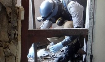 O OHE βλέπει χρήση χημικών όπλων και από το καθεστώς στη Συρία