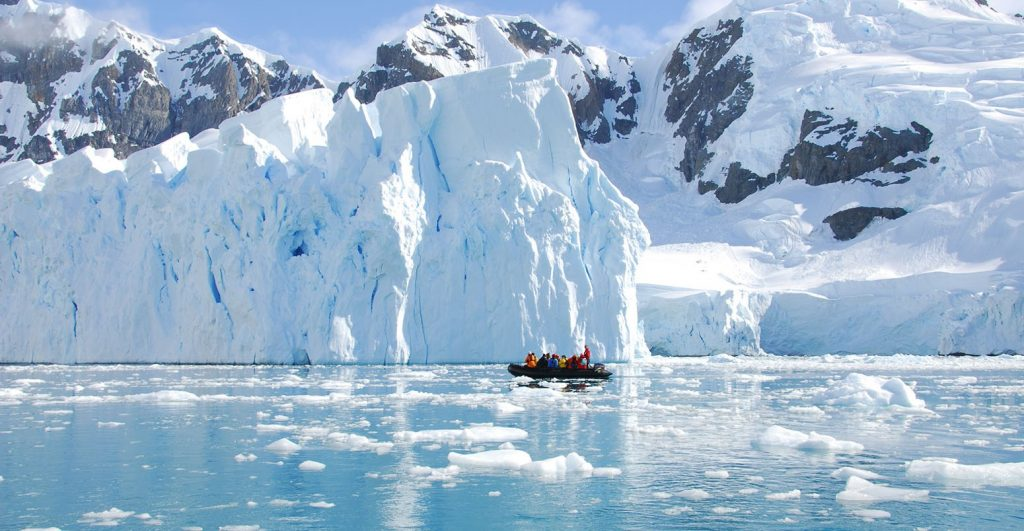 το πυρήνα του πάγου της Γροιλανδίας
