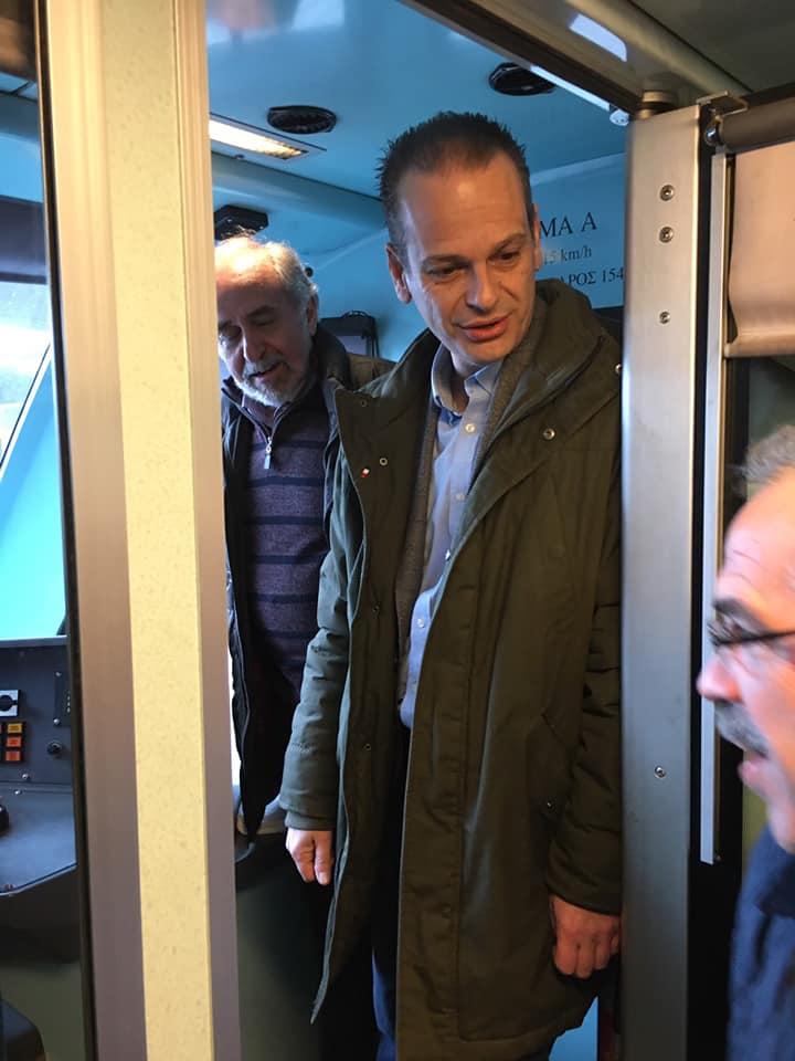 Παραδόθηκε η νέα σιδηροδρομική γραμμή Λιανοκλάδι-Δομοκός [εικόνες-video]