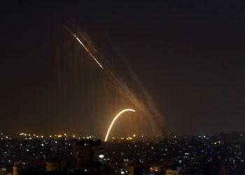 gaza israil rouketes ap