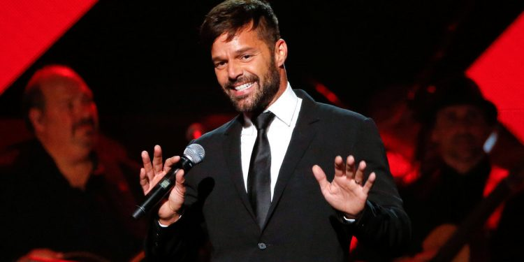 Recording artist Ricky Martin speaks during the Latin Recording Academy Person of the Year award gala honoring Marc Anthony in Las Vegas, Nevada U.S., November 16, 2016. REUTERS/Mario Anzuoni