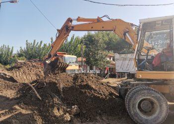 Εργασίες αποκατάστασης Δήμος Λαμιέων στις πληγείσες περιοχές