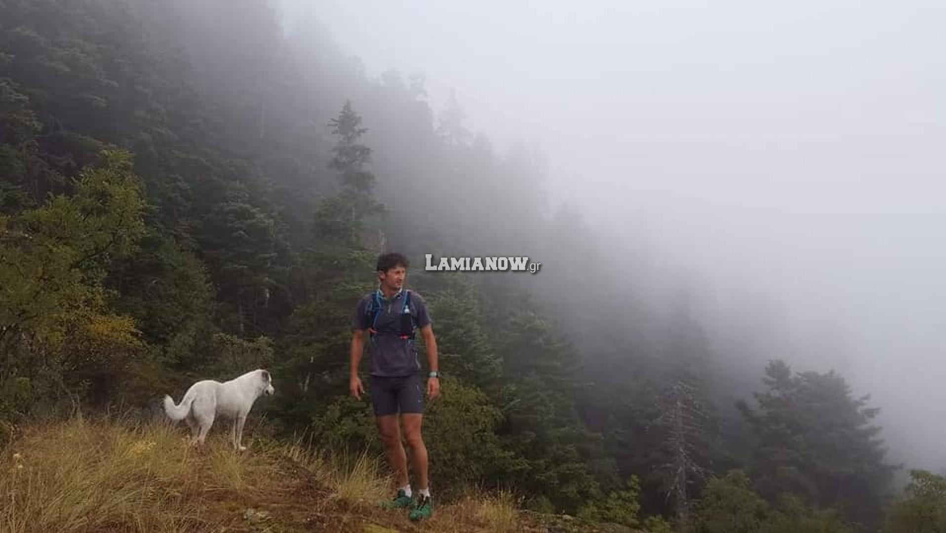 Πούμπα και Ηρακλής στον Hercules Mountain Marathon της Οίτης
