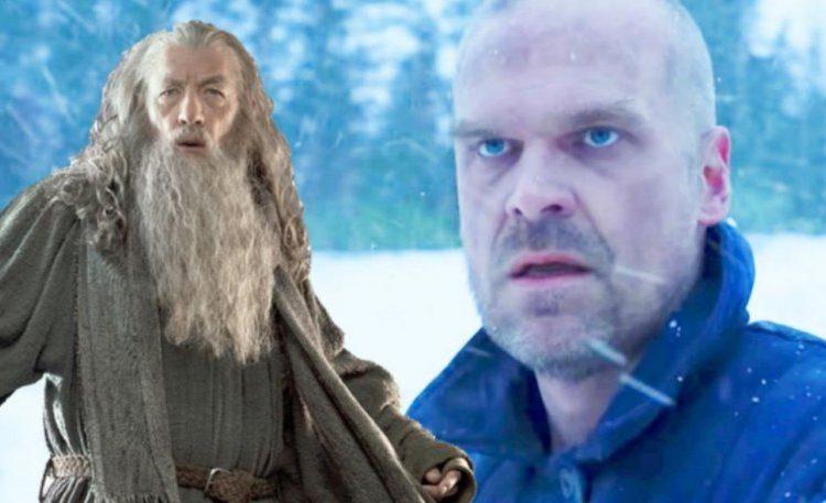 stranger things season 4 hopper gandalf