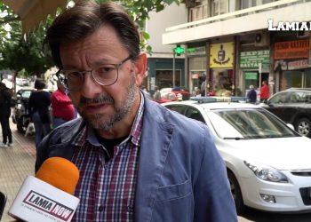 O επικεφαλής της παρέμβασης Πολιτών για τη Λαμία Βασίλης Κυριακάκης - Φωτό αρχείου