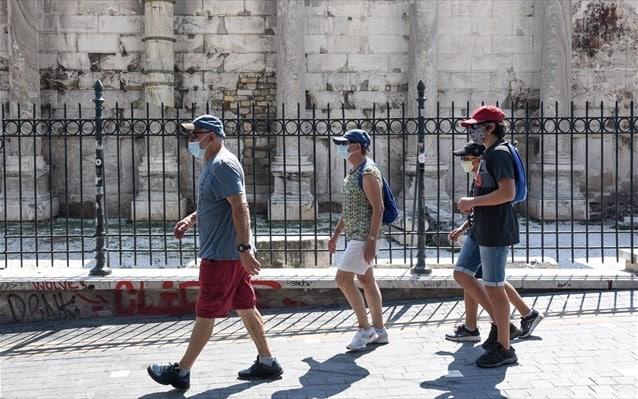 touristes koronoios athina