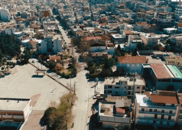lamia drone kornoios