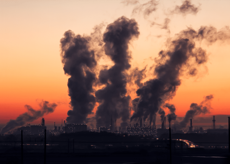 polution plant