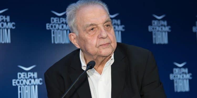 Ο υπουργός Επικρατείας αρμόδιος για θέματα Καθημερινότητας του Πολίτη Αλέκος Φλαμπουράρης, μιλάει στο τέταρτο Οικονομικού Φόρουμ των Δελφών, Σάββατο 2 Μαρτίου 2019. ΑΠΕ-ΜΠΕ/ΑΠΕ-ΜΠΕ/ΒΑΣΙΛΗΣ ΑΣΒΕΣΤΟΠΟΥΛΟΣ