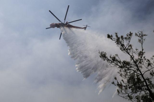 Wildfire in the forest of Seih Sou at the outskirts of Thessaloniki, on July 13, 2021 / Πυρκαγιά στο δάσος του Σέιχ Σου, στις παρυφές της Θεσσαλονίκης, στις 13 Ιουλίου, 2021